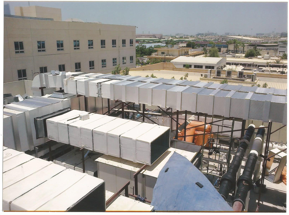 Duct Aluminium Cladding Islampor Air Conditions